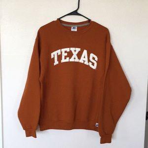 Russell Texas Longhorns Crew Neck Sweatshirt (M)